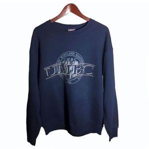 University of Maryland Blue Sweatshirt Size L